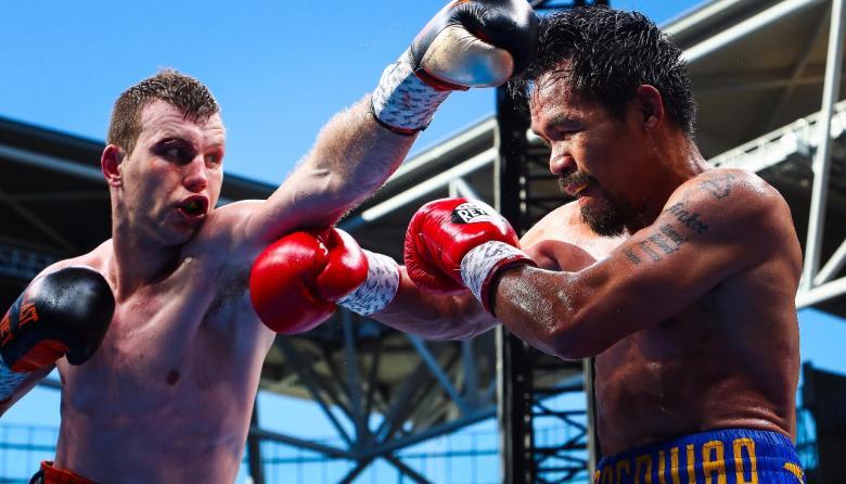 Manny Pacquiao perdió la corona wélter en fallo polémico ante Jeff Horn en Australia