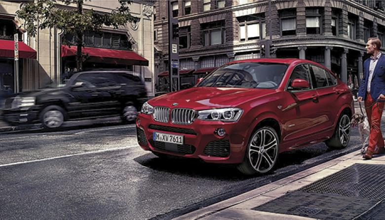 BMW X4: elegancia, tecnología y comodida en una 4X4