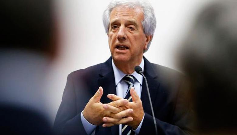 Tabaré Vásquez, presidente de Uruguay.