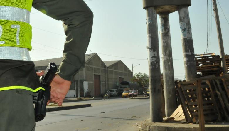 Matan a taxista en Los Tres Postes