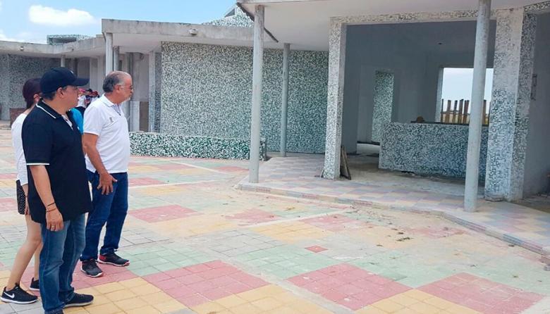 Verano visitando el CDI los Almendros, en Soledad.