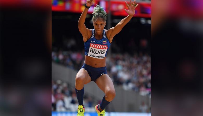 Yulimar Rojas acaba el reinado de Ibargüen en el Mundial de Atletismo