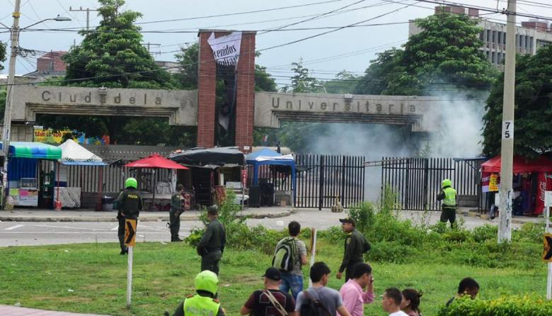 Tras protestas, directivas de Uniatlántico hacen llamado a la unidad universitaria