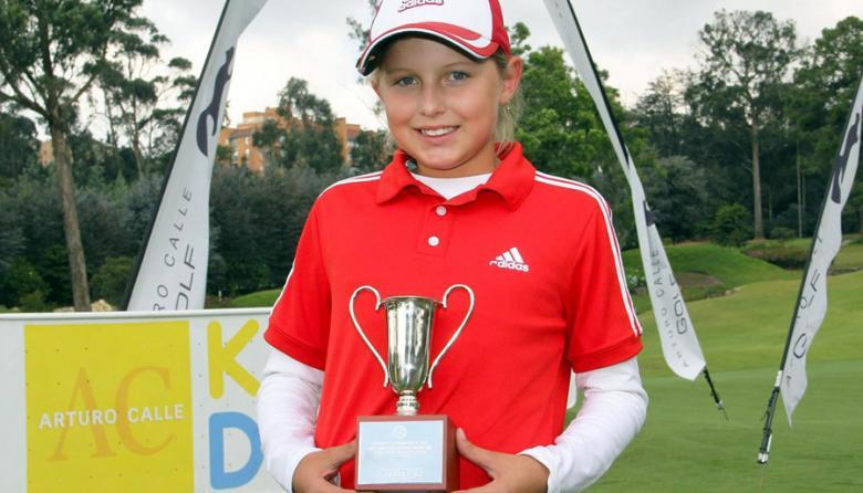 La barranquillera Daniela Páez Rodríguez es campeona de golf