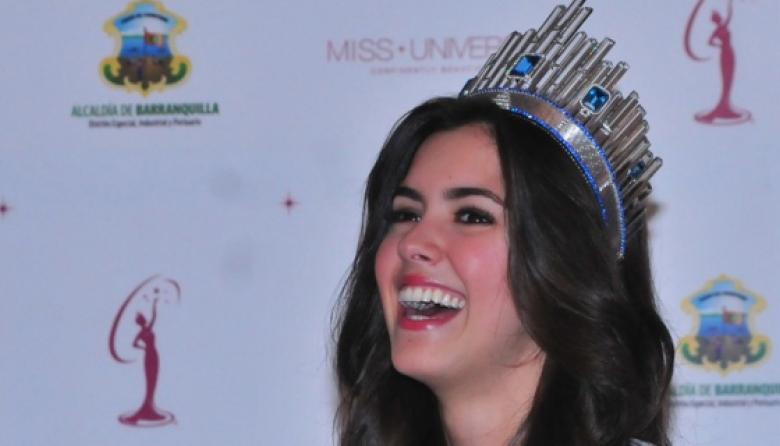 Paulina Vega, ex Miss Universo.