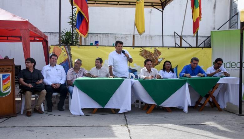 Delegados de Undeco se reunieron en una asamblea realizada ayer