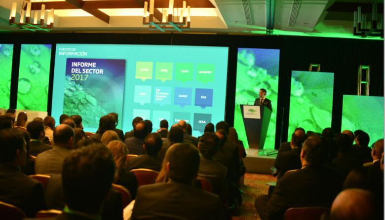 Presentación del informe del gas natural 2017.