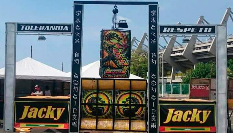 'Jacky en Concierto', el picó que reconcilia a las pandillas en 7 de Abril