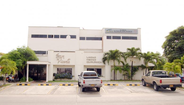 Clínica San Vicente, donde permanece recluida la víctima.