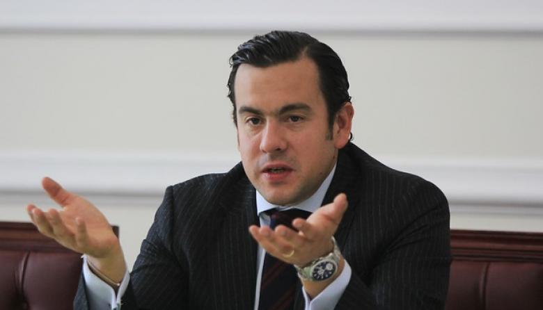 El presidente de la Cámara, Rodrigo Lara.