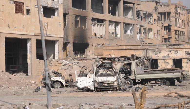Decenas de muertos en un atentado del EI en el este de Siria
