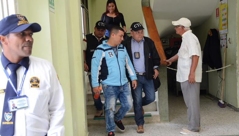 Darwin Flórez Andrade, expolicía preso.