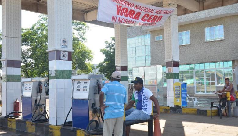 Estaciones de gasolina de La Guajira se declaran en 'quiebra'