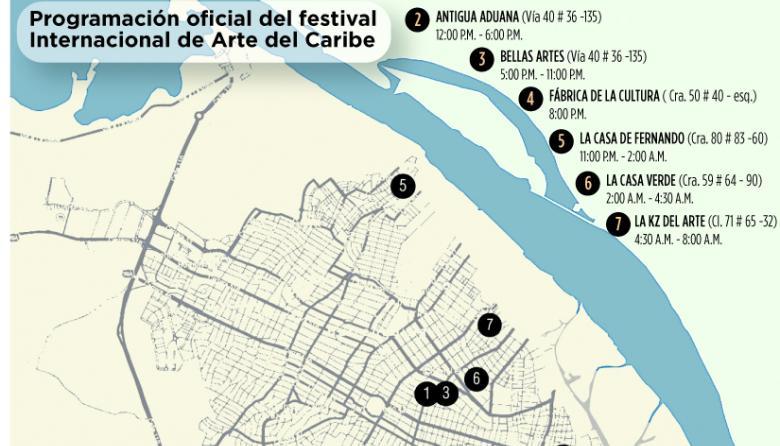 Se vivirán 24 horas seguidas de arte en Barranquilla el viernes