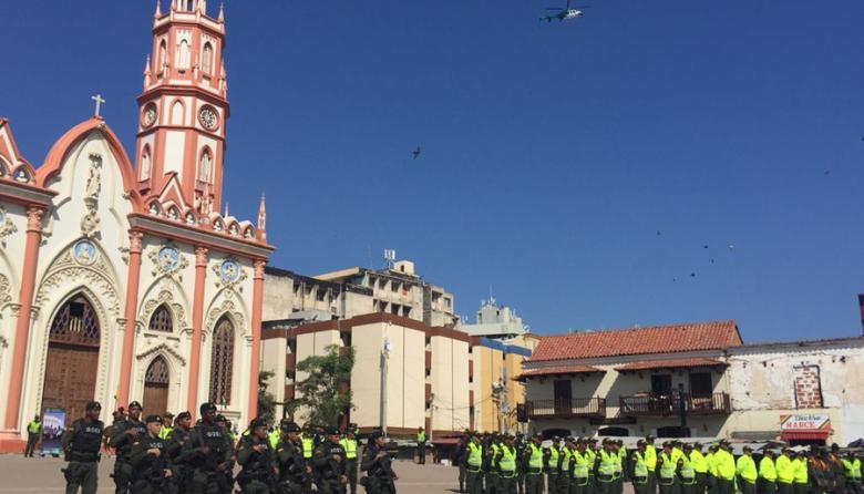 Atlántico y Barranquilla, vigilados por 6.397 policías en Navidad