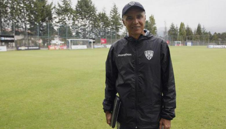 Alexis Mendoza, director técnico de Independiente del Valle.