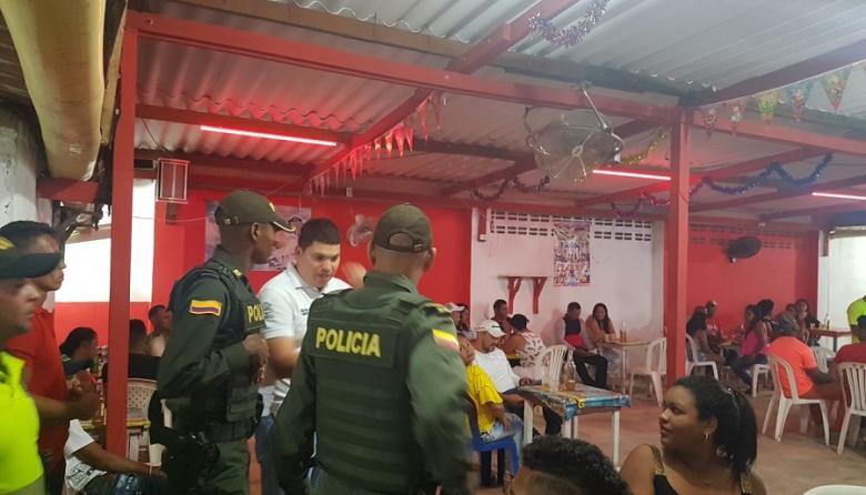 El Distrito de Barranquilla, con el apoyo de la Policía, realiza operativos para evitar las riñas.