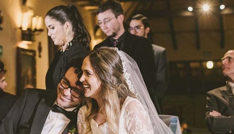 Con estas fotos, Andrés Cepeda celebra su matrimonio con Elisa Restrepo