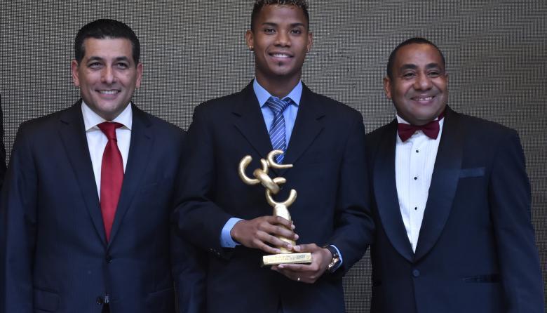 Wilmar Barrios fue escogido como el 'Deportista del Año para Bolívar' 2017