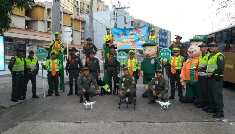 En marcha operativo de seguridad de la Policía: 2.000 uniformados custodiarán la Guacherna