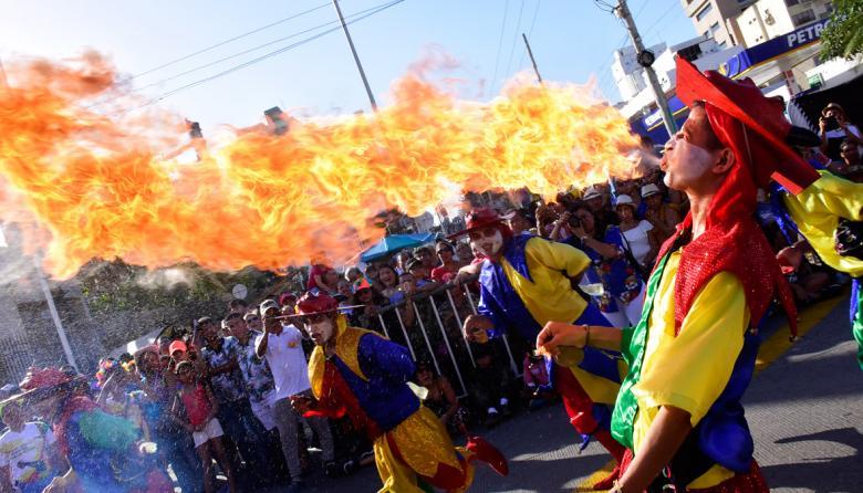 Desfile 'Martes de Carnaval', un hasta pronto a las fiestas del Rey Momo