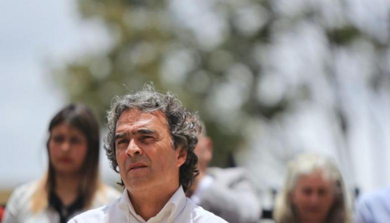El candidato presidencial de la Coalición Colombia, Sergio Fajardo.