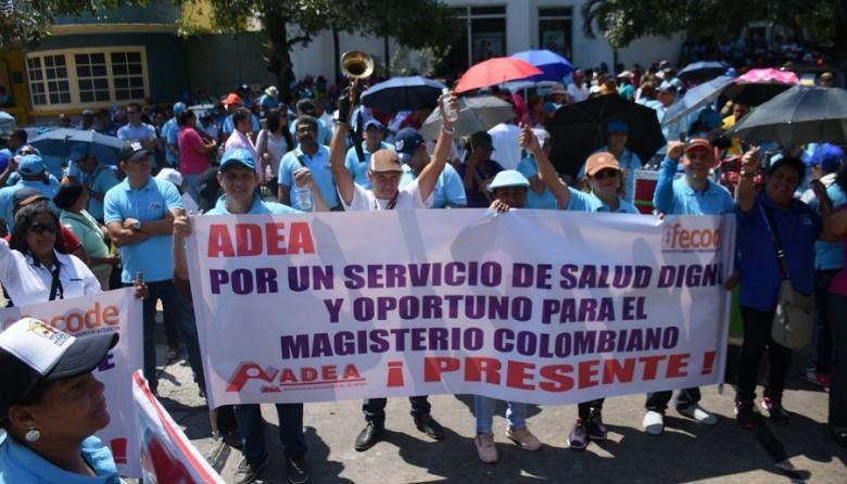 Docentes de la Costa piden al Gobierno cumplir acuerdos