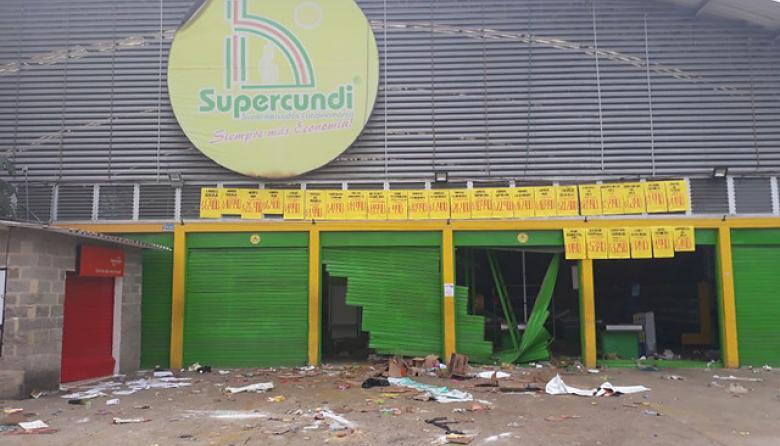 Miembros de la Farc niegan relación con los supermercados