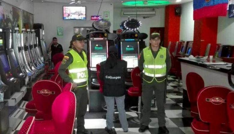 Incautan 182 máquinas tragamonedas ilegales en Cartagena, Barranquilla y Arjona