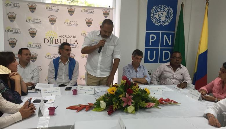 Dibulla, primer municipio en La Guajira, declarado libre de sospecha por minas antipersonal y municiones sin explosionar