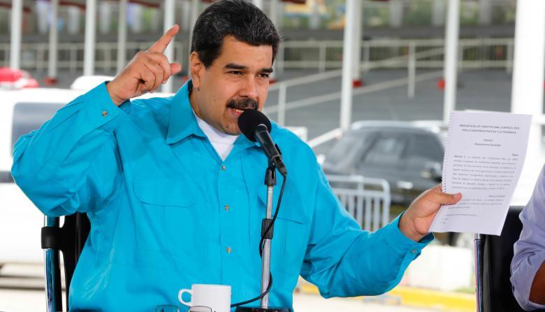"""Veto de Trump a criptomoneda venezolana es una """"persecución criminal"""": Maduro"""