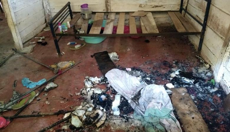 En Me Quejo, muere bebé de tres meses al incendiarse el corral donde dormía