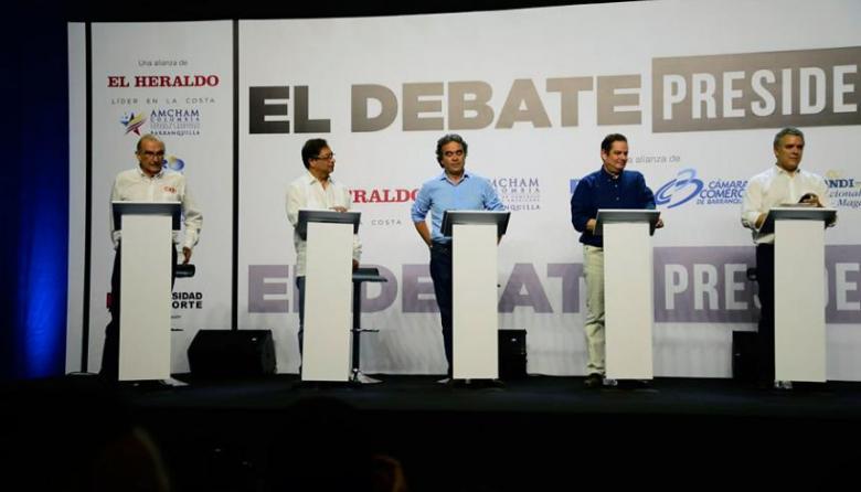 Debate Caribe: esto hablaron los candidatos a la Presidencia sobre la corrupción
