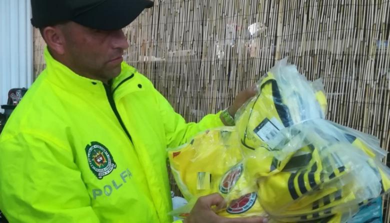 Aprehenden mercancía de contrabando en el barrio Betania