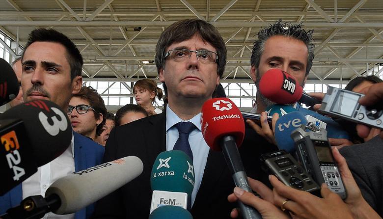 El expresidente independentista Carles Puigdemont.