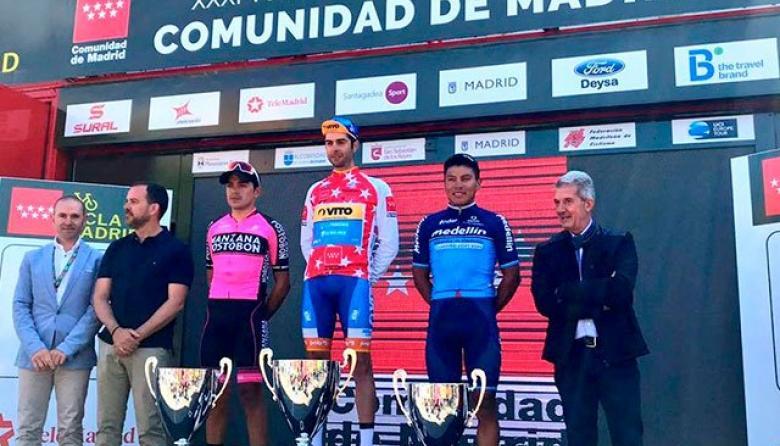 Fabio Duarte, subcampeón de la Vuelta a Madrid