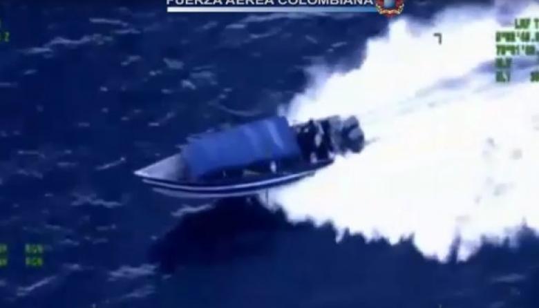 Interceptan lancha GoFastque se dirigía a Centroamérica con cocaína