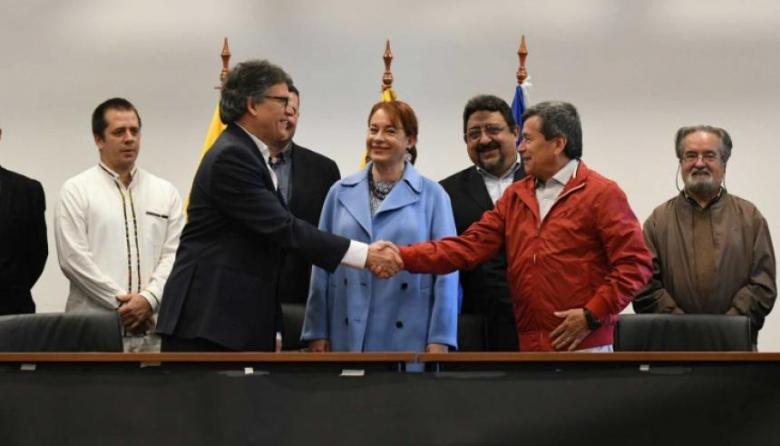 Eln y Gobierno se sientan en La Habana para negociar cese al fuego