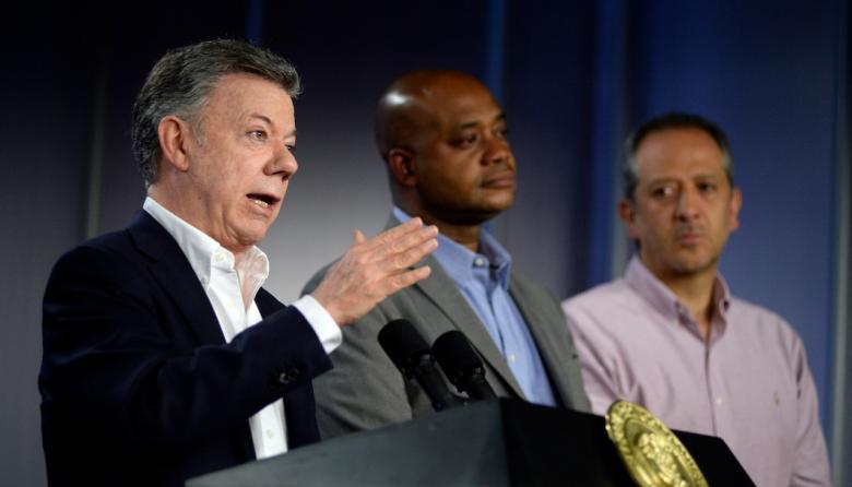 Juan Manuel Santos, presidente de Colombia.