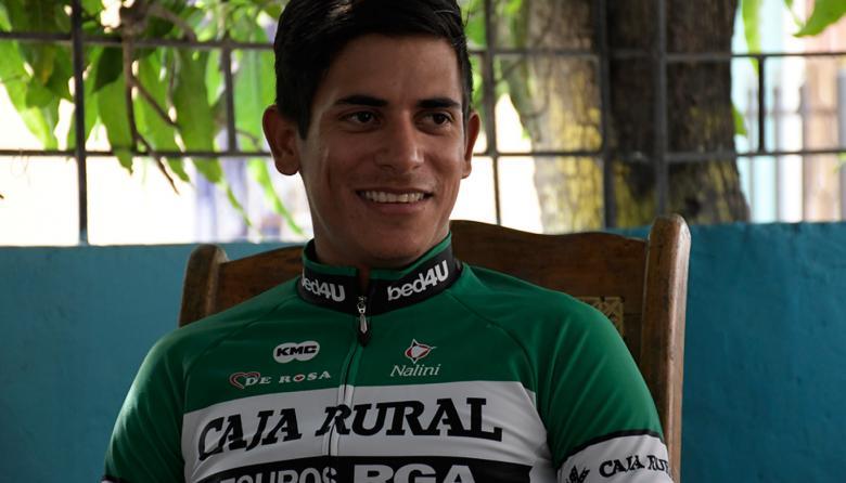 """""""Competir junto a Froome, a quien veía en televisión, fue muy bonito"""": Nelson Soto"""