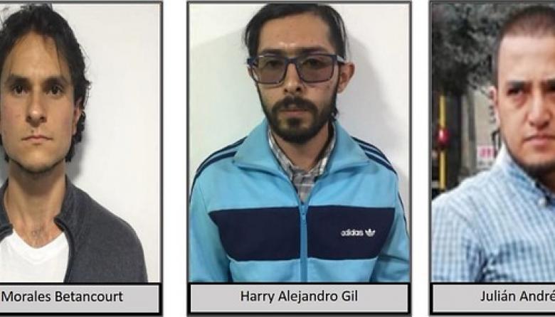 Caen tres presuntos miembros del  frente urbano del Eln