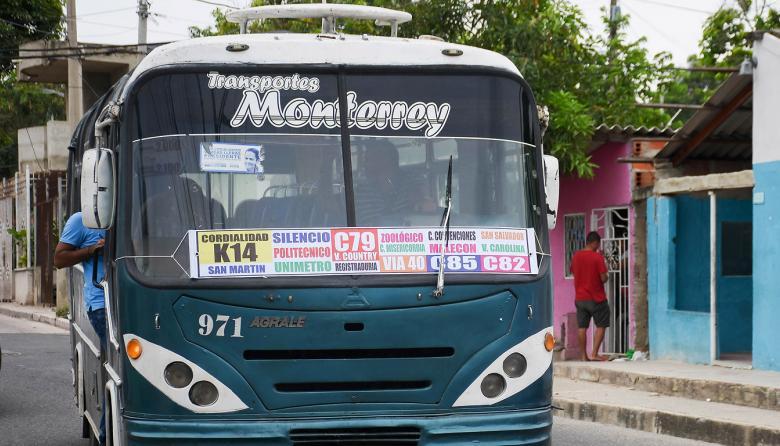 Inseguridad obliga a conductores a cambiar recorrido en El Bosque