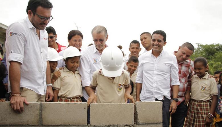Comienzan obras en colegios de Piojó e Hibácharo