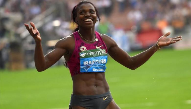 La vigente campeona olímpica Caterine Ibargüen.