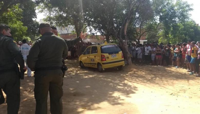 """""""Taxista había sido amenazado por cobradiarios"""": Policía"""