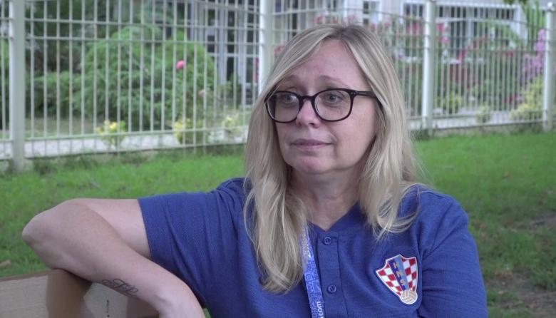 En video | Conozca a Iva Olivari, la 'jefa' de Croacia en el Mundial de Rusia