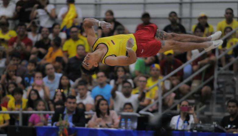 La gimnasia artística de Colombia se luce y le regala un oro a Barranquilla