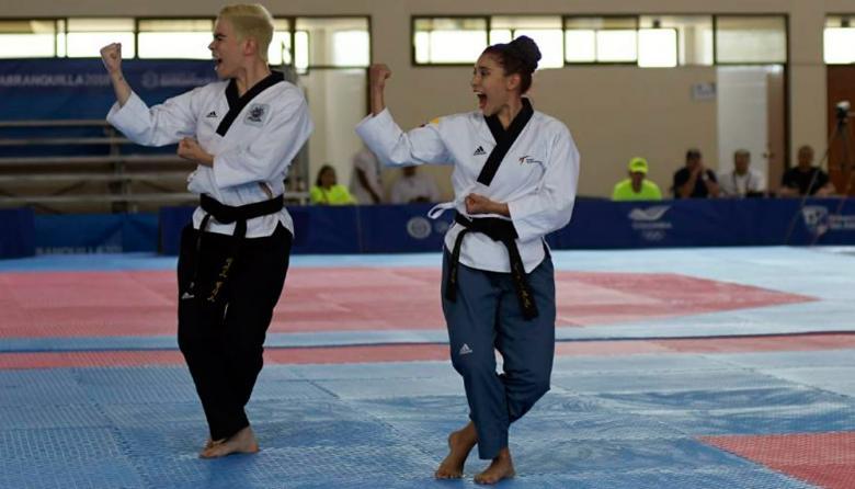 Colombia, plata en taekwondo en la modalidad de poomsae por equipos