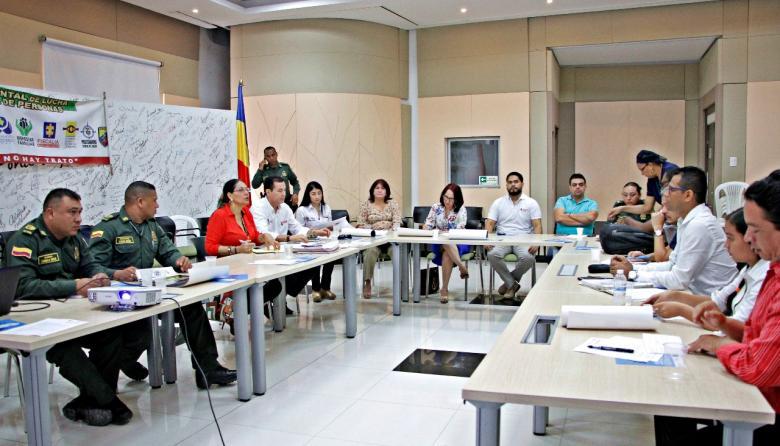 Comité de lucha contra la trata de personas.