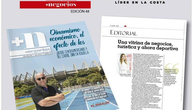 Editorial +n: Una vitrina de negocios, turística y ahora deportiva